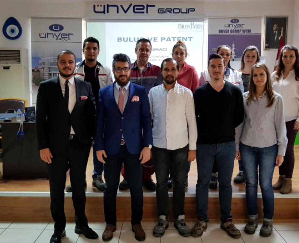 Ünver Group Arge Merkezinde Patent Eğitimi