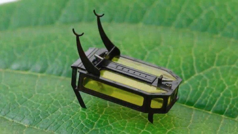Ameliyatlarda Kullanılması Hedeflenen, Alkolle Çalışan Mikro Robot: RoBeetle
